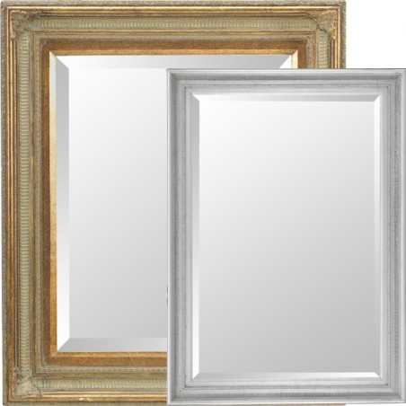 Modèle de miroir carré / rectangle