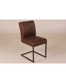 Pardoes stoel comba dark brown