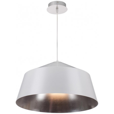 Pendant lamp Paster white silver