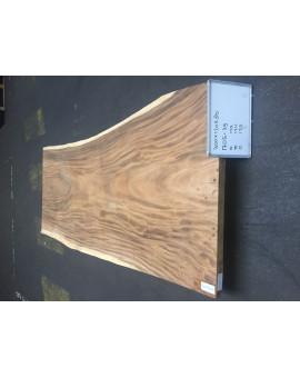 Suar houten boomstamblad