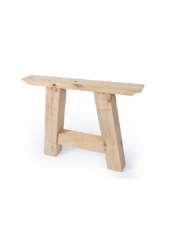 oak table Triangle frame set of 2