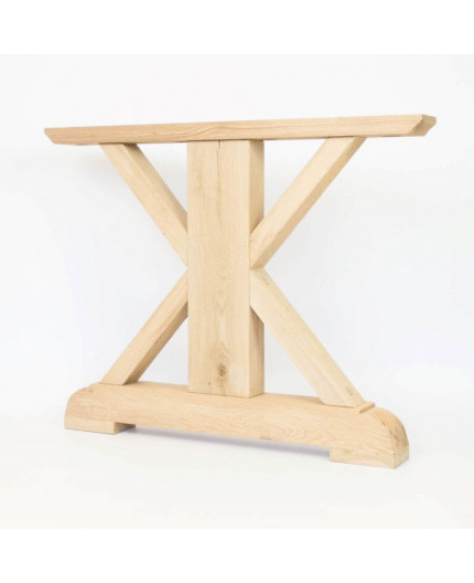 oak table Laura frame set of 2