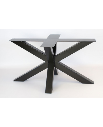 Metal table leg 3D long