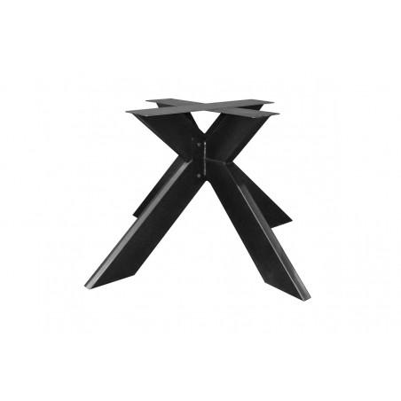 Metal table leg 3D fineline square