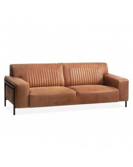Factory bonanza couch leather