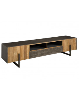 TV stand copper teak 222 cm