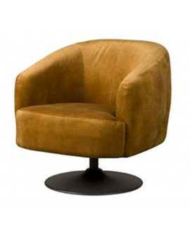 turn armchair velvet