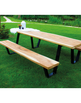Suar wooden picknick table