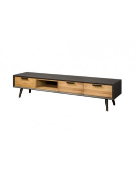 TV cabinet black and...