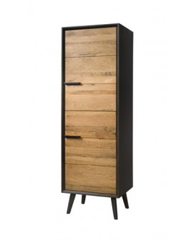 2 door cabinet black and...